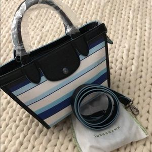 Longchamp purse with strap